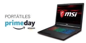 Portátiles en el Prime Day de Amazon
