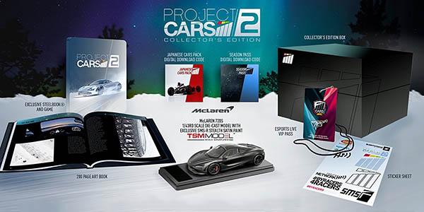 Project Cars 2 Coleccionista para PS4 barata