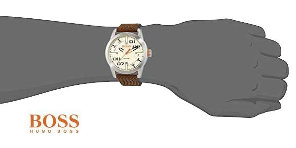 Reloj analógico Hugo Boss Orange 1513418 Oslo para hombre chollo en Amazon
