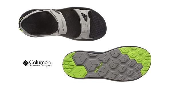 Sandalias deportivas Columbia Techsun en color gris para hombre chollo en Amazon