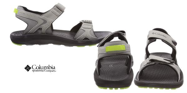 Sandalias deportivas Columbia Techsun en color gris para hombre chollazo en Amazon