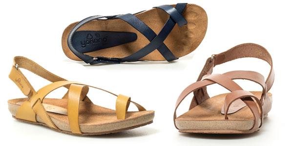 Sandalias de piel Yokono Ibiza baratas en eBay
