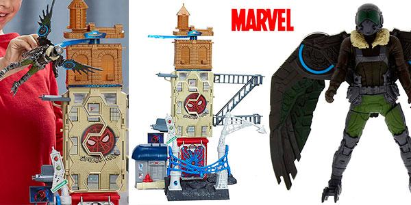 Set Spiderman Marvel Web City con la figura del Buitre