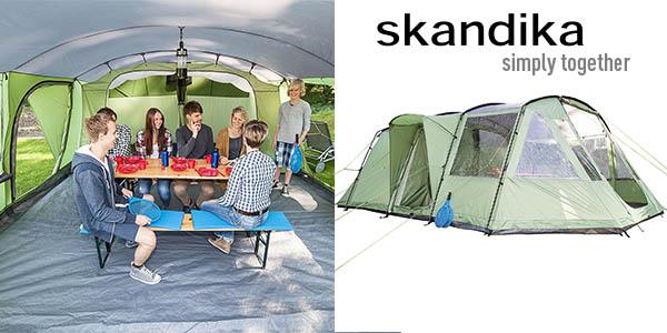 Skandika Norland 4 tienda de campaña de grandes dimensiones barata