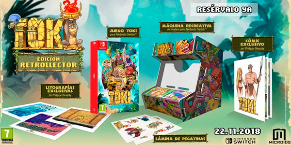 Videojuego Toki Retrocollector Edition para Nintendo Switch barato