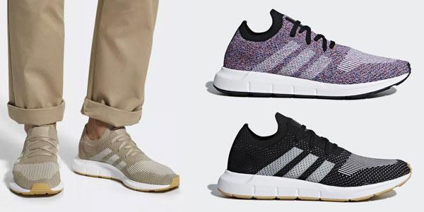Zapatillas Adidas Swift Run Primeknit con descuento en la web de Adidas