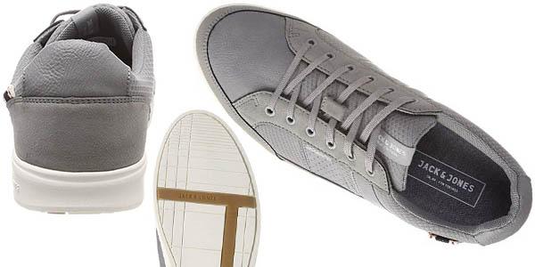 zapatillas casuales Jack Jones Jfwrayne Mesh Mix Frost oferta