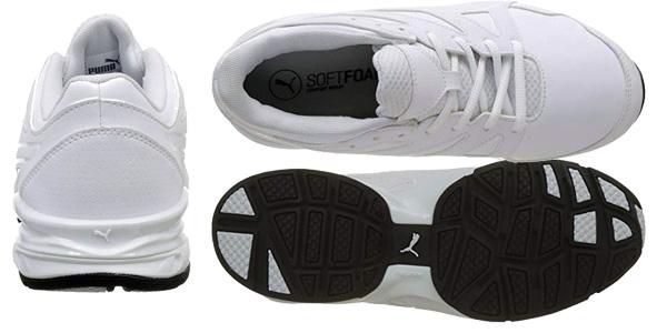 Zapatillas deportivas Puma Tazon Modern Fracture en color blanco para hombre chollo en Amazon
