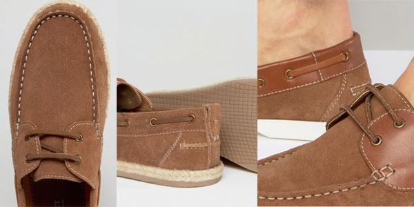 Zapatos náuticos de ante Silver Street baratos en Asos