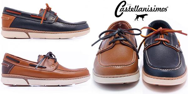 Zapatos náuticos Castellanísimos para hombre en oferta
