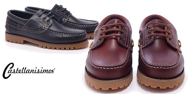 Zapatos náuticos Castellanísimos para hombre baratos en Amazon