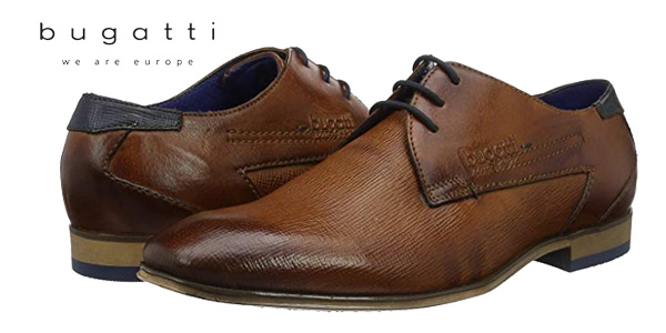 Chollo Zapatos de vestir Bugatti Derby 312101082100 en color