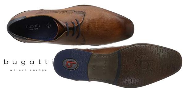 Zapatos de vestir Bugatti 312101082100 en color marrón cognac para hombre chollo en Amazon