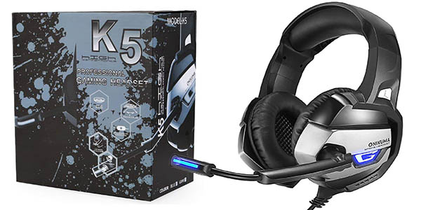 Auriculares Gaming AxCella para PC, PS4 y Xbox One
