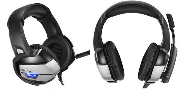 Auriculares gaming AxCella baratos en Amazon