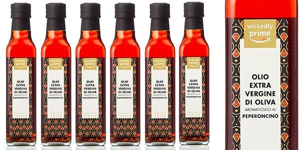 botellas de aceite de oliva virgen extra aromatizado con guindillas picantes baratas