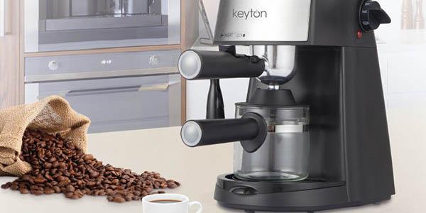 cafetera eléctrica con brazo profesional Keyton oferta