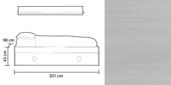 cama nido Duehome Scruba dormitorio juvenil con genial relación calidad-precio
