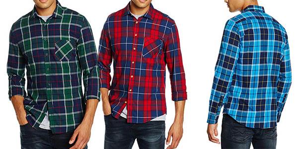 camisa Redford Berlin de diseño de cuadros barata