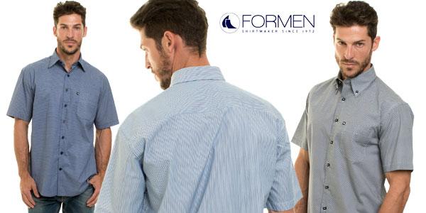Camisa de manga corta For Men Regular Fit en varios modelos baratas en eBay