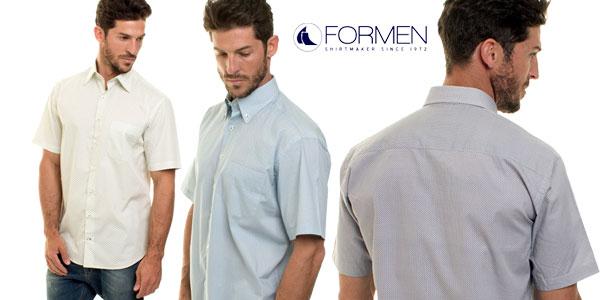 Camisa de manga corta For Men Regular Fit en varios modelos chollazo en eBay