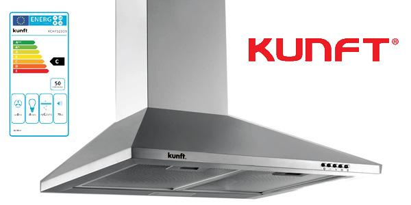 Campana extractora KUNFT KCHPS2339 de 60 cm y 108W barata en eBay