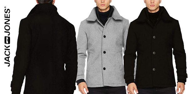 Chaqueta de lana JACK & JONES Jcojoe Wool Jacket para hombre chollazo en Amazon