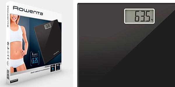 Chollo Báscula de baño electrónica Rowenta Premiss BS1060