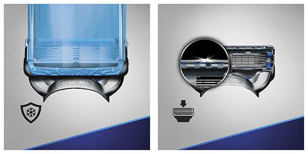 cuchillas Gillette Fusion Proshield recambios chollo