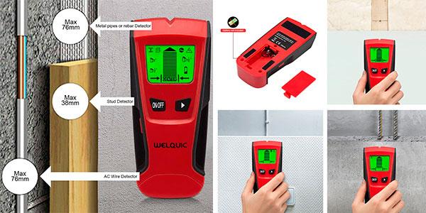 Detector de pared Welquic 3 en 1 con pantalla LCD barato