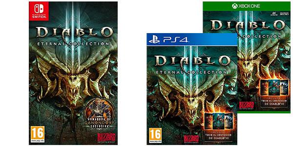Diablo 3 para PS4, Xbox One y Nintendo Switch