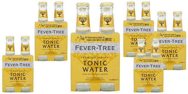 Fever-Tree agua-tónica pack 24 botellas barato