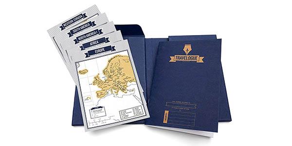 Luckies London cuaderno viajes con mapas para rascar oferta