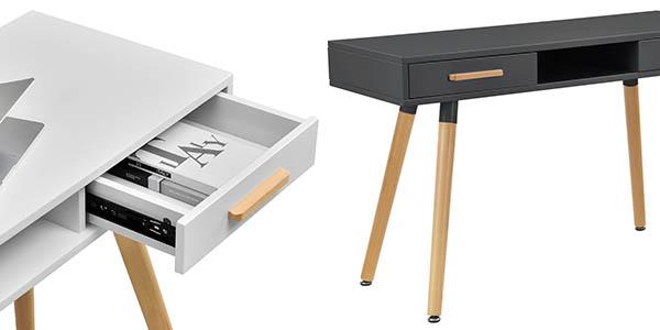 mesa-ordenador de diseño retro En.casa oferta