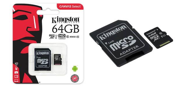 MicroSD Kingston SDCS