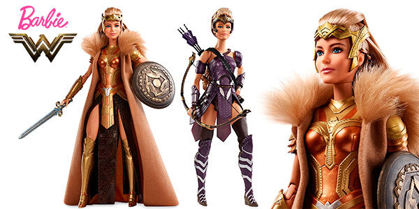 Muñeca Barbie de la película Wonder Woman (Reina Hipólita y Antíope) barata