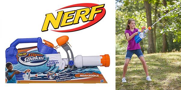 Nerf Super Soaker Soakzooka pistola de agua barata