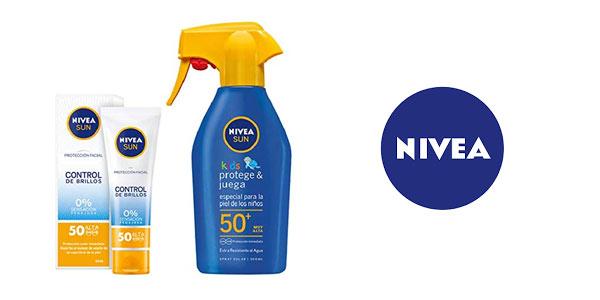 Pack Nivea Sun Kids + Nivea Sun Control de brillos barato en Amazon