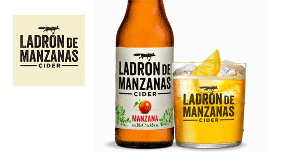 4 Packs de 6 Botellas x 250 ml Ladrón de Manzanas Cider Frutos Rojos chollo en Amazon