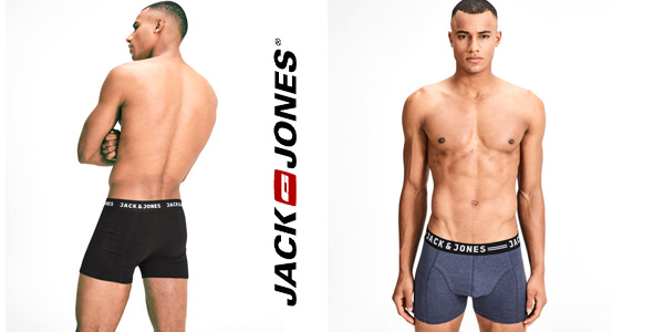 Pack 3 calzoncillos bóxer Jack & Jones chollo en Amazon