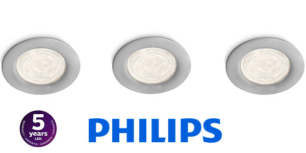 Pack de 3 focos LED empotrables Philips SmartSpot Sceptrum barato