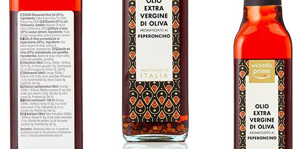 pack 6 botellas de aceite de oliva virgen extra picante con gran relación calidad-precio