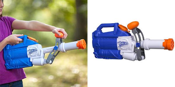 pistola de agua Nerf Super Soaker de gran alcance chollo