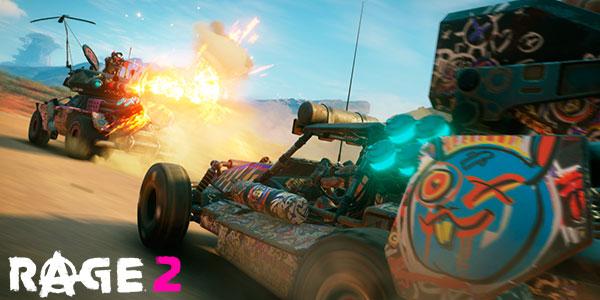Reserva videojuego Rage 2 para PC Steam, PS4 y Xbox One barato