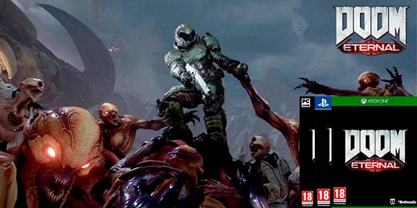 Reserva Doom Eternal para PS4, Xbox One y PC Steam barato