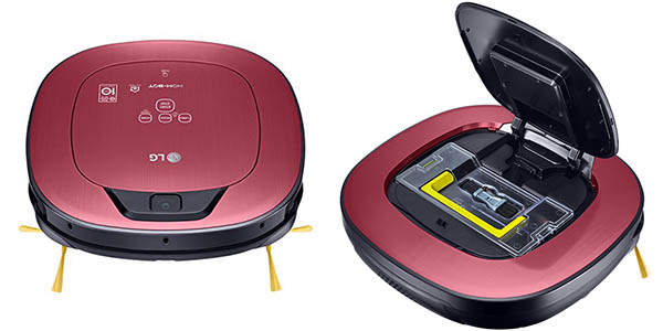 LG Hombot Turbo Serie 11 VR9624PR con control mediante smartphone