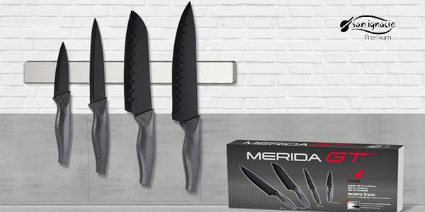 Set de tacoma con 4 cuchillos San Ignacio Premium y utensilios chollazo en Amazon