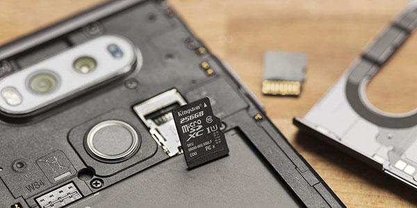 Tarjeta de memoria Kingston SD de 32GB Canvas Select chollo en Amazon