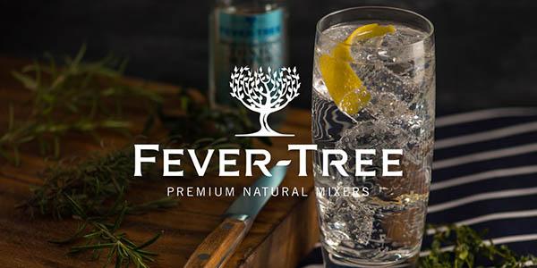 tónica Fever-Tree pack de gran formato botellas 200 ml chollo