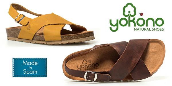 Yokono Mabul sandalias de tiras de cuero baratas